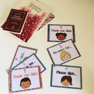 Encouraging my kids to talk to Allah – 'Thank you, Sorry, Please': The concept, how we use it and free printables